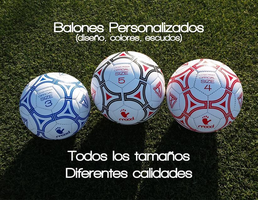 Balones de fútbol personalizados