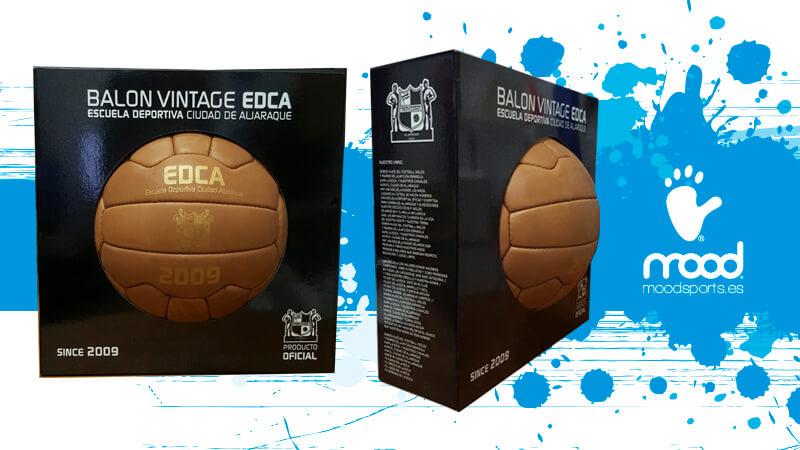 Balón vintage réplica de pelotas antiguas de fútbol